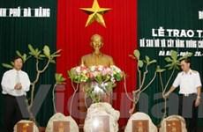Đà Nẵng tiếp nhận đá chủ quyền từ Trường Sa