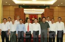 Bộ Chính trị làm việc với Đảng bộ các tỉnh, cơ quan