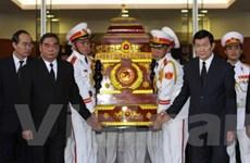 Tổ chức trọng thể lễ truy điệu đồng chí Võ Trần Chí