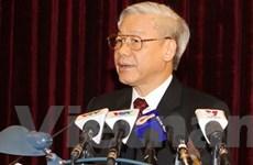 Bế mạc Hội nghị lần 4 BCH Trung ương Đảng khóa XI