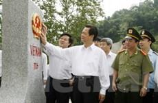 Công bố nghị định thư phân giới cắm mốc Việt-Trung