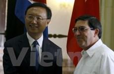 Trung Quốc-Cuba tăng cường quan hệ song phương