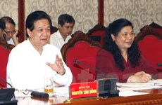 Bộ Chính trị làm việc với Đảng bộ tỉnh Hải Phòng