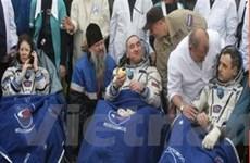 Tàu vũ trụ Soyuz của Nga trở về Trái Đất an toàn