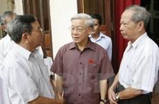 Chủ tịch Quốc hội tiếp xúc cử tri Thủ đô Hà Nội