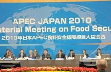 APEC thông qua Tuyên bố về an ninh lương thực
