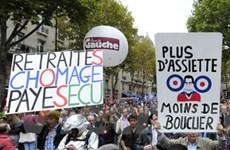 Làn sóng đình công tại Pháp ngày càng dữ dội