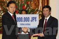Quan hệ hữu nghị Việt Nam-Nhật phát triển tích cực