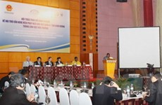 Nghị viện Pháp ngữ họp về môi trường tại Hà Nội