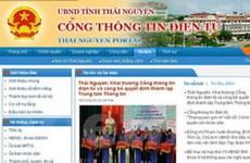 Khai trương cổng thông tin điện tử Thái Nguyên