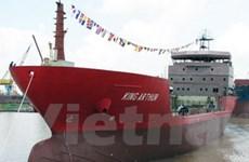 Bàn giao tàu chở khí Ethylene 4.500m3 cho Italy