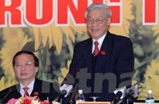 Tổng Bí thư phát biểu tại phiên bế mạc ĐH Đảng XI