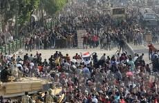 Hối thúc Ai Cập bắt đầu ngay chuyển giao quyền lực
