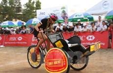 Tổ chức đua xích lô từ thiện tại TP Hồ Chí Minh