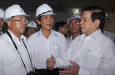 Chủ tịch nước làm việc tại Thành phố Hồ Chí Minh