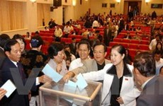 Tập huấn tuyên truyền bầu cử đại biểu Quốc hội