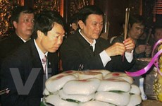 Lãnh đạo Đảng, Nhà nước dâng hương các Vua Hùng