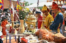 Tổ chức Lễ Khao lề thế lính Hoàng Sa tại Lý Sơn