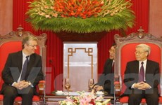 Việt-Pháp thúc đẩy hợp tác giữa hai Đảng Cộng sản