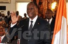 Tổng thống Cote d'Ivoire đã chính thức nhậm chức
