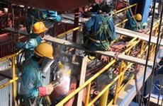 Nhiệt điện Vũng Áng 1: Lắp đặt stator tổ máy số 1
