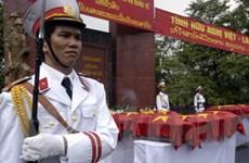 Truy điệu, an táng hài cốt liệt sĩ hy sinh ở Campuchia