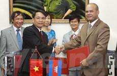TTXVN tăng cường hợp tác toàn diện với hãng AKP