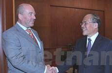 Quan hệ hợp tác Việt Nam-Đức liên tục phát triển