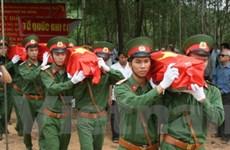 Quảng Trị quy tập hơn 2.200 hài cốt liệt sỹ từ Lào