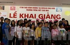 Nỗ lực gìn giữ, phổ biến tiếng Việt tại nước Đức