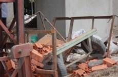 Đứt cáp ở công trường, 5 người chết và bị thương