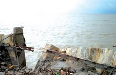 Lũ trung lưu sông Mekong đang lên ở mức cao