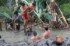 Lũ làm sạt lở hơn 23.000m2 đất bờ sông An Giang