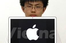 """Hình ghép mặt Steve Jobs với Quả táo gây """"sốt"""""""