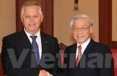 Đẩy mạnh hợp tác hai Đảng Cộng sản VN-Ukraine