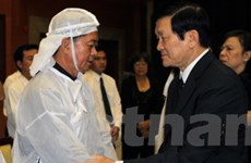 Lãnh đạo Đảng, Nhà nước viếng ông Võ Trần Chí