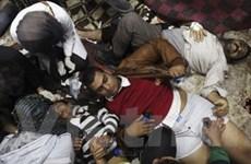 Đụng độ lớn ở Cairo