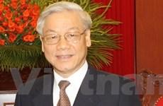 Báo Campuchia đưa về chuyến thăm của Tổng Bí thư