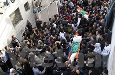 Israel không kích Dải Gaza, 11 người thương vong