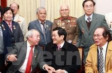 Chủ tịch nước gặp các thế hệ thiếu sinh quân VN