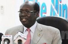 Nam Sudan ngừng khai thác dầu vì tranh cãi Sudan