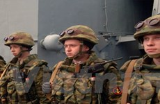 Nga bác tin tàu chiến Nga có mặt gần bờ biển Syria