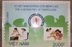 Phát hành bộ tem bưu chính với chủ đề về bệnh lao