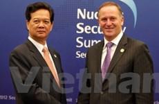 Thủ tướng gặp các lãnh đạo tại HN An ninh Hạt nhân