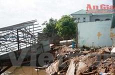 An Giang ban bố tình trạng khẩn sau vụ sạt lở đất