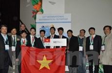 VN giành 1 huy chương vàng Olympic toán quốc tế