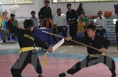 Khai mạc Giải vô địch Pencak Silat trẻ toàn quốc
