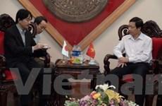 Hoàng tử Nhật Bản Akishino đến thăm tỉnh Hòa Bình