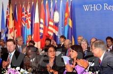 WHO: Thông qua 10 nghị quyết, chiến lược Tây TBD