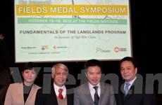 Viện toán ở Canada vinh danh giáo sư Ngô Bảo Châu